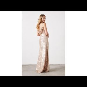 Weddington Way Florence Gold Sequin dress Sz 2